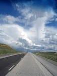 straight-ahead